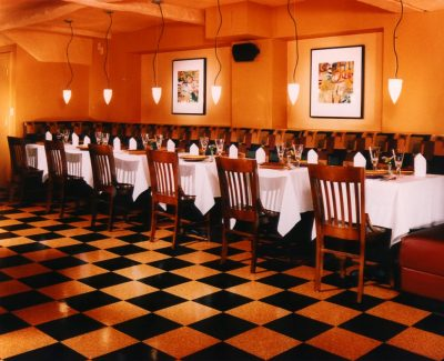 Classic Collection Dark Shade and Leopard Tile - Restaurant